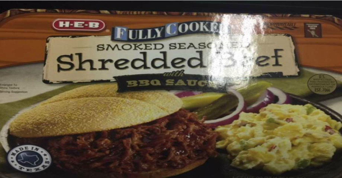 Beef with plastic is not on the menu for H-E-B in this recall