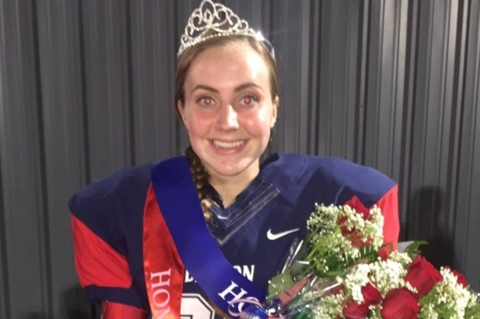 A field goal won Dawson High School the game Friday night, and the kicker turned out to be a queen