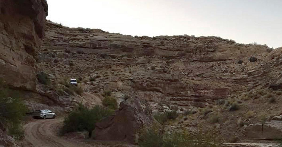 Good news as Houston couple makes a narrow escape from Utah's Grand Staircase Desert