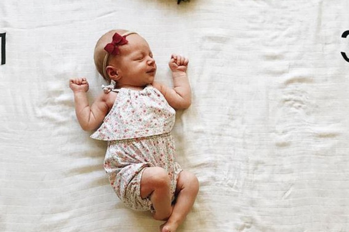 Audrey Roloff shares one of baby Ember's first milestones in a sweet Instagram pic
