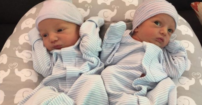 """Double Trouble!"" See which celebrity mom just welcomed these adorable newborn twins"