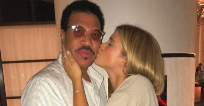Lionel Richie speaks out against his 19-year-old daughter's much older boyfriend