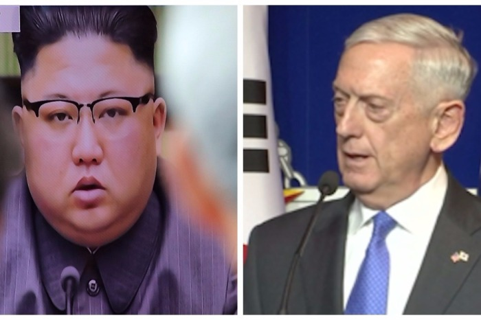 """""""Mad Dog"""" Mattis drew a definitive line in the sand for """"outlaw"""" Kim Jong-un"""