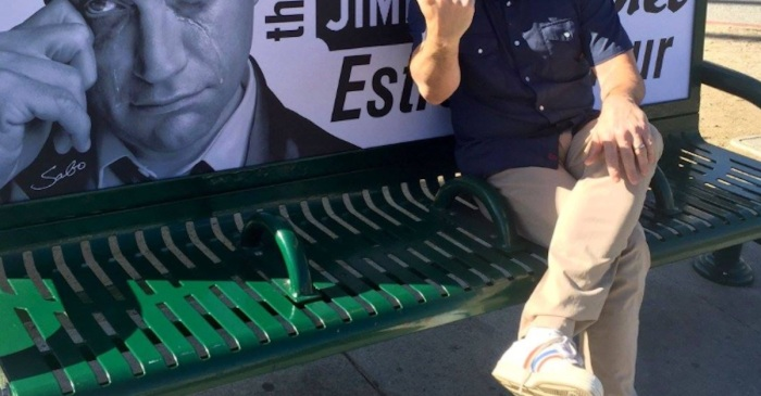 "Jimmy Kimmel breaks his silence on signs in Hollywood calling him a ""cry-baby"""