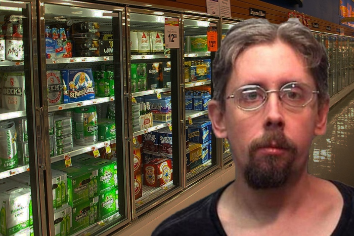 A court ordered a man to stay sober; then he found himself locked in a beer cooler