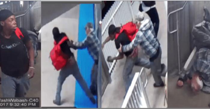 Yet another violent crime against a senior citizen on the CTA