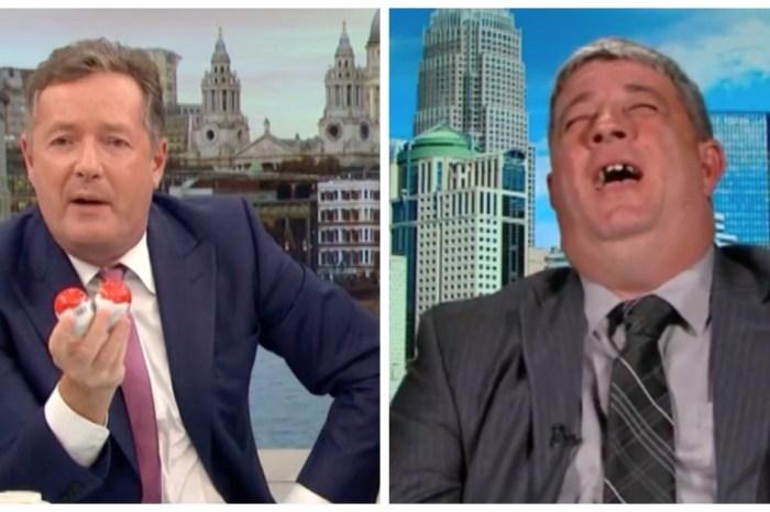 """It's not funny"": Piers Morgan's interview of a pro-gun guest after Las Vegas got intense"