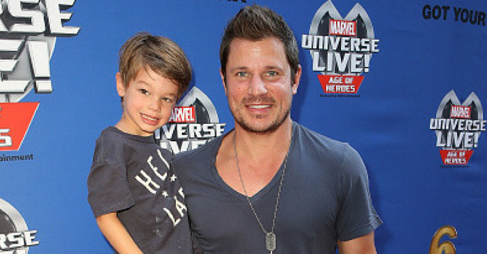 "The reason Nick Lachey's son wants him to stop competing on ""DWTS"" broke his heart"