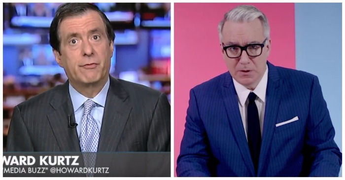 Keith Olbermann hurled two f-bombs at a Fox News host over his Las Vegas response