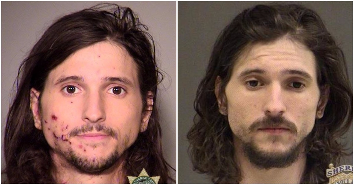 This guy is facing an assault charge after his hand exploded and smacked a cop