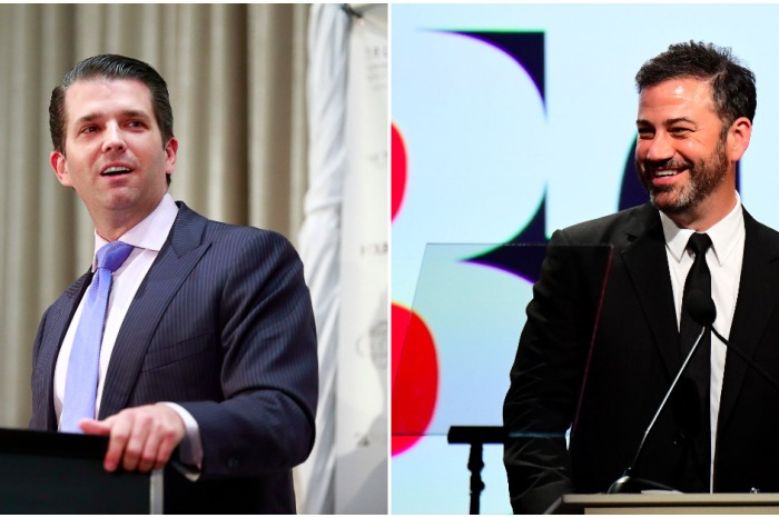 Don Jr. just called out Jimmy Kimmel on Harvey Weinstein with some spicy tweets
