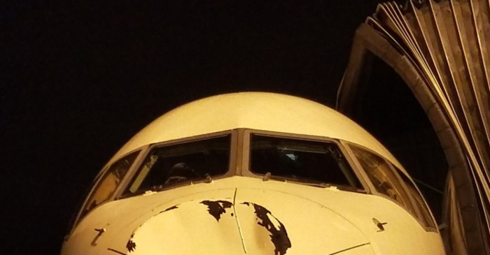 NBA Players tweet unsettling photos of airplane they were flying in — we're glad they're okay