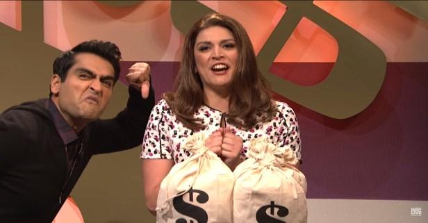 """SNL Parodies Game Show Contestants in """"Bank Breakers"""""""