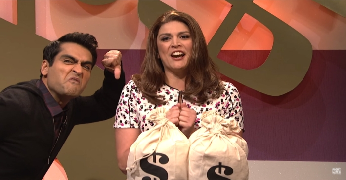"SNL Parodies Game Show Contestants in ""Bank Breakers"""