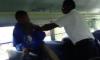 school bus scuffle