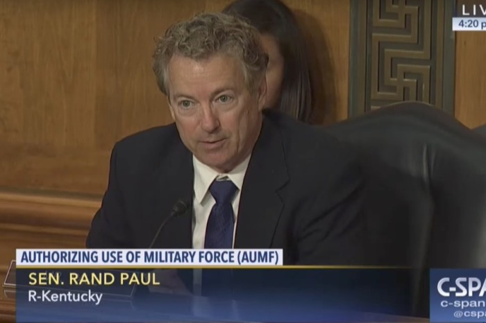 "Rand Paul challenges Rex Tillerson and James Mattis to end ""open-ended war"""