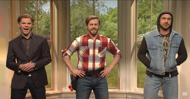 """""""SNL"""" Briefly Turned into HGTV When Ryan Gosling Became the Third """"Property Brother"""""""