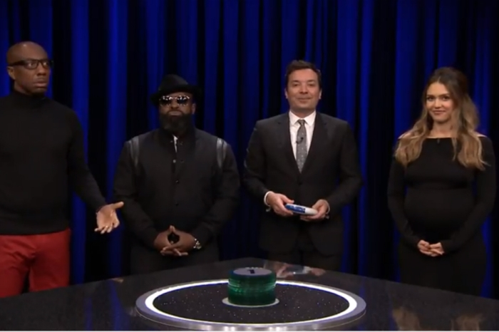 "Jessica Alba and J.B. Smoove join Jimmy Fallon for a nerve-wracking game of ""Catch Phrase"""
