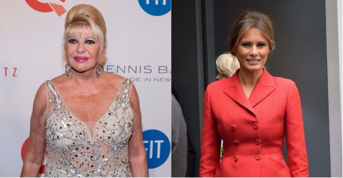 """Ivana Trump continues to stir the pot with more comments about being """"first lady"""""""