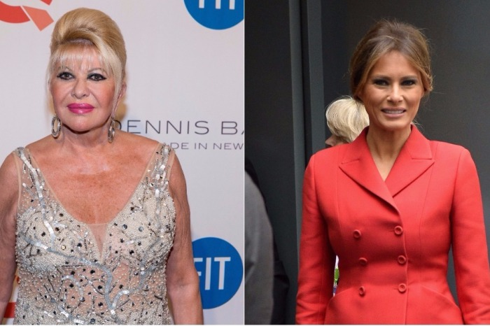"Ivana Trump continues to stir the pot with more comments about being ""first lady"""