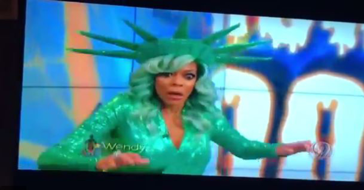 Wendy Williams gave fans a fright when she passed out during her live Halloween show