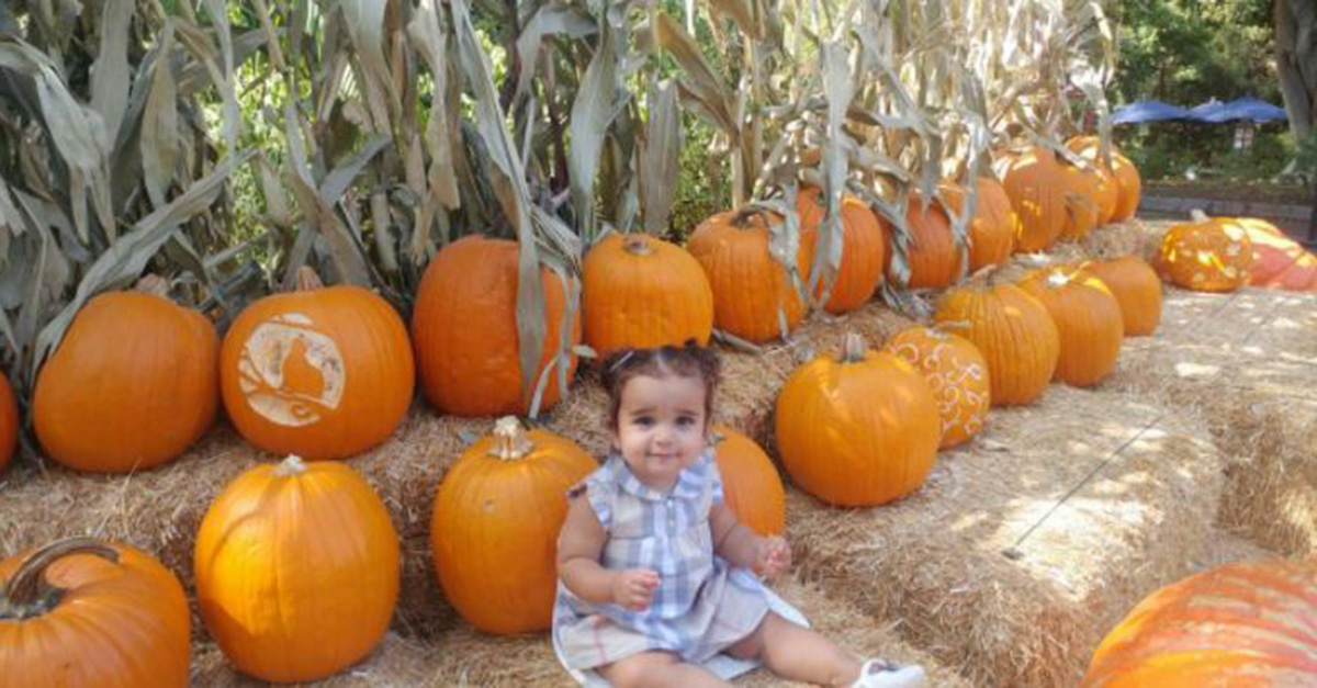 Rob and Dream Kardashian get in the Halloween spirit with adorable fall photos