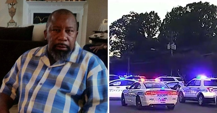 Police say a driver's actions got a veteran and firefighter killed as he went into work