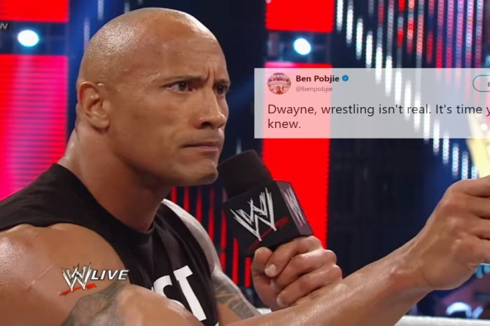 Someone just told The Rock that wrestling isn't real, and he clapped back hard