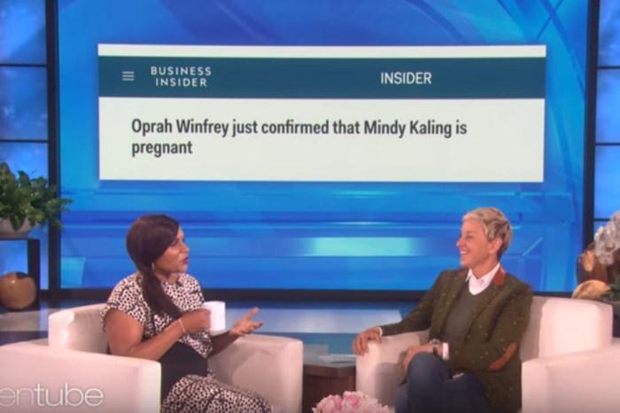 Mindy Kaling confirms sex of her baby to Ellen DeGeneres