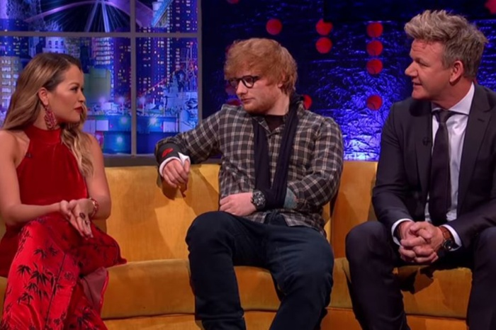 Rita Ora confronts Gordon Ramsay about being turned away from one of his restaurants