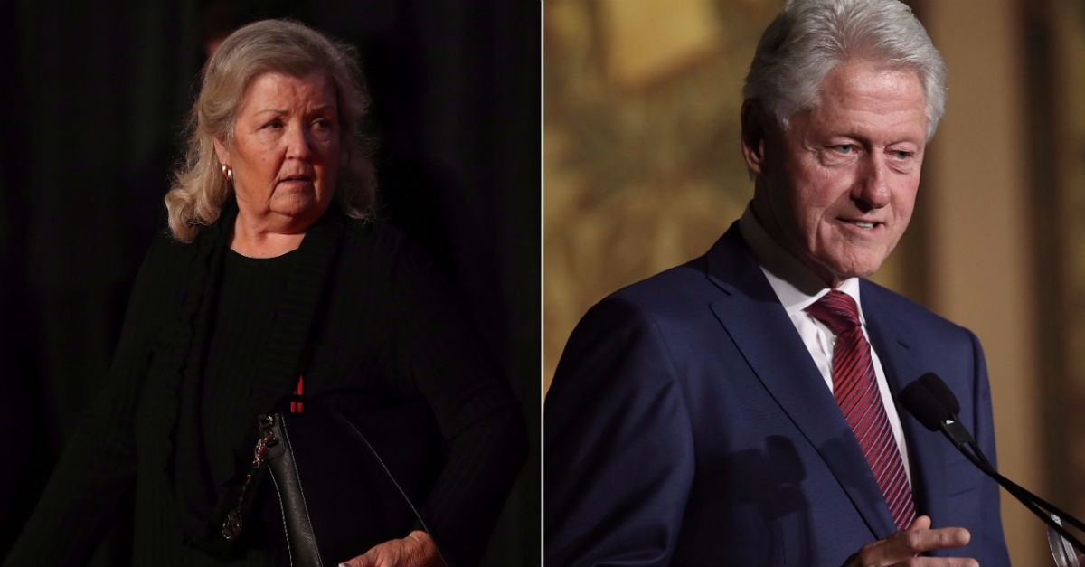 Bill Clinton accuser Juanita Broaddrick just got support from the least likely source