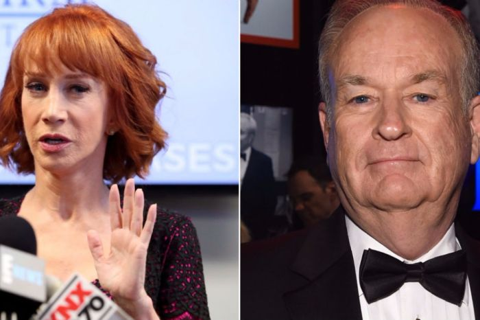 "Kathy Griffin unleashes on ""Billy McRapey"" after Bill O'Reilly reached out for an interesting request"