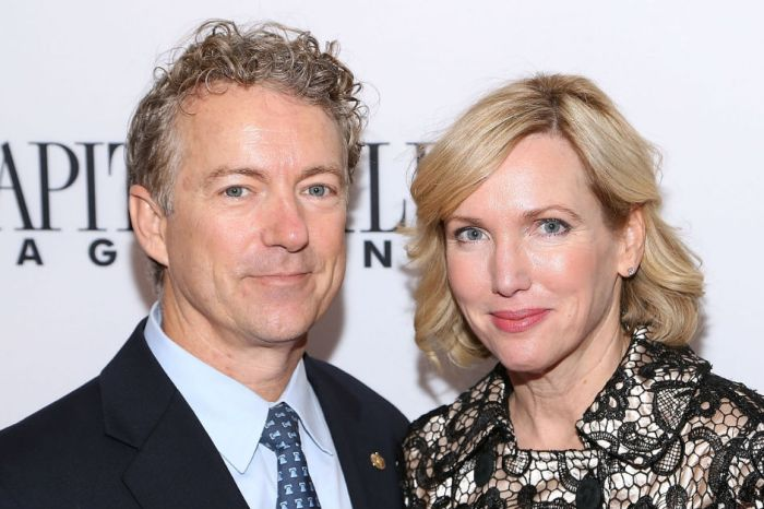 "Sen. Rand Paul's wife slams ""concocted theories"" after her husband was attacked by a neighbor"