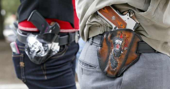 A gun bill making its way through Congress could radically change how legal gun owners carry