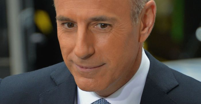 "Matt Lauer reportedly joked about sleeping with interns while prepping for a ""TODAY"" interview"
