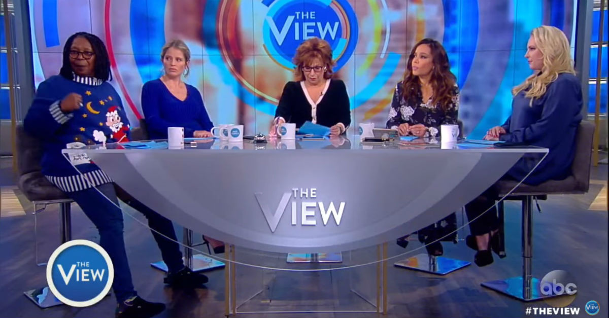 """""""The View"""" had a segment about understanding Trump supporters and you have to see what they came up with"""