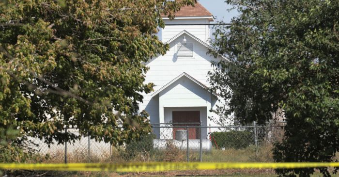 Following Sutherland Springs' shooting, the debate on faith v. security heats up in Houston