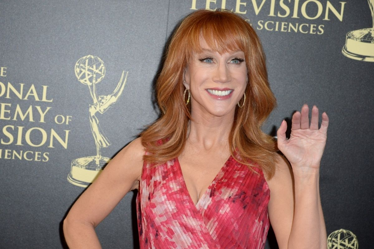 "Kathy Griffin Ripped Hollywood's Focus on ""White Privileged Old Dudes"""