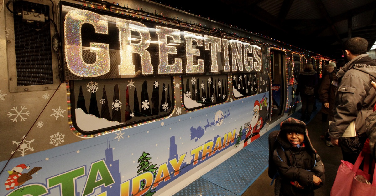 It's finally here: The CTA holiday train and bus schedule