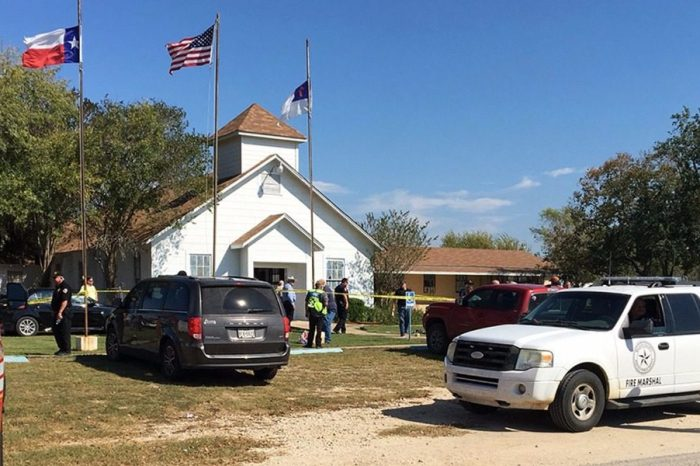 As the Sutherland Springs shooting happened, a neighboring church dropped everything to help