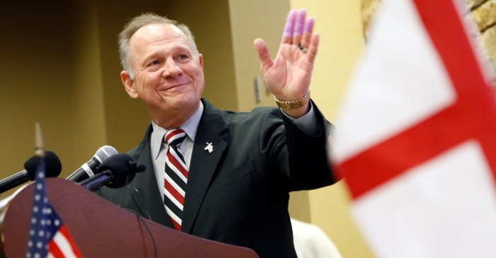 Roy Moore's defeat was not a repudiation of Donald Trump