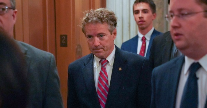 Charges have been given to the man who allegedly assaulted Sen. Rand Paul