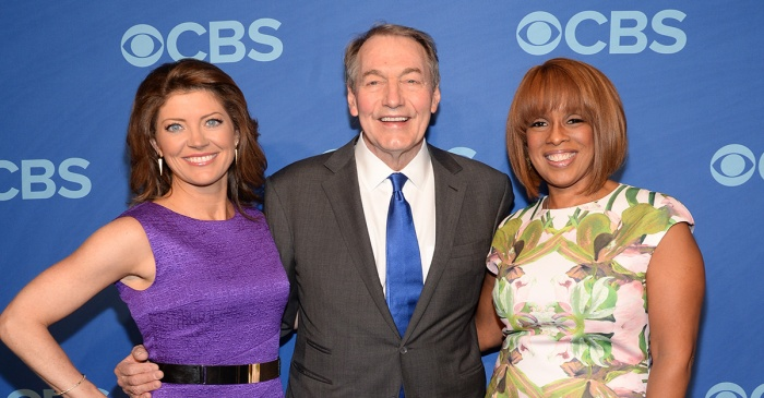 Things got heavy when Charlie Rose's co-hosts addressed his sexual assault scandal