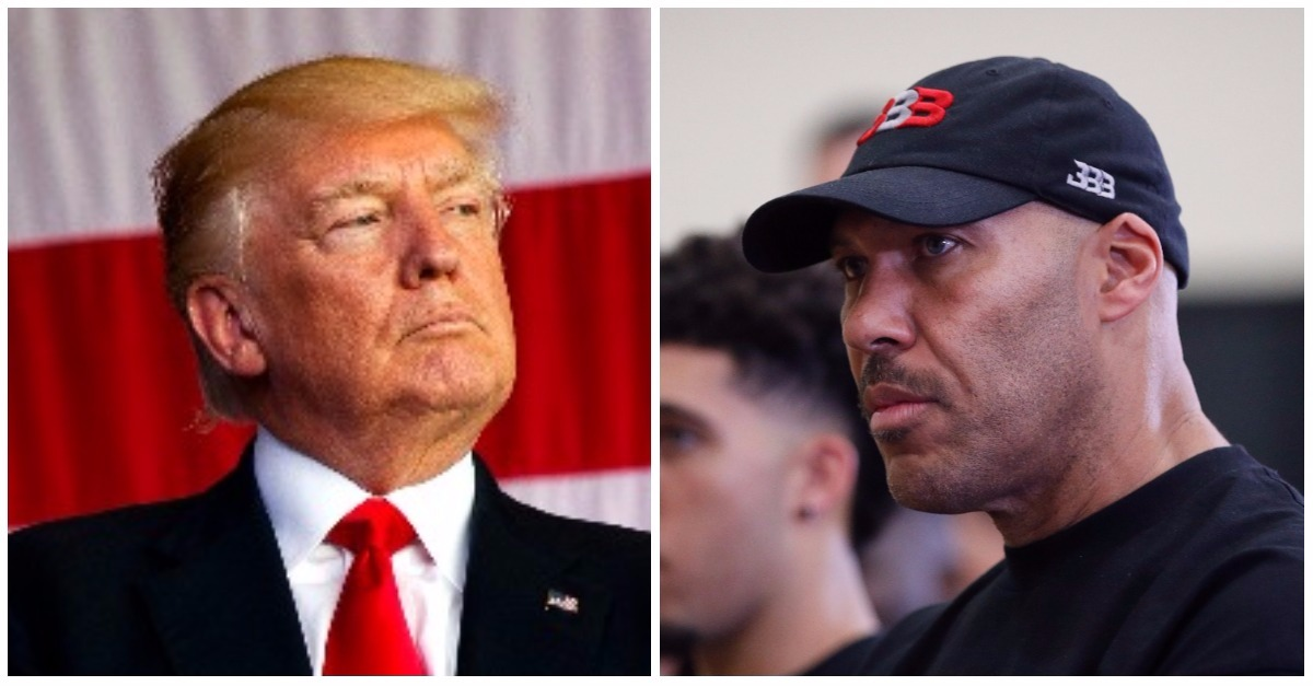 """I should have left them in jail!"": Trump isn't happy with UCLA basketball dad LaVar Ball's no, thank you"