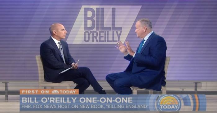 Matt Lauer's testy interview of Bill O'Reilly looks a lot different now that he's been fired
