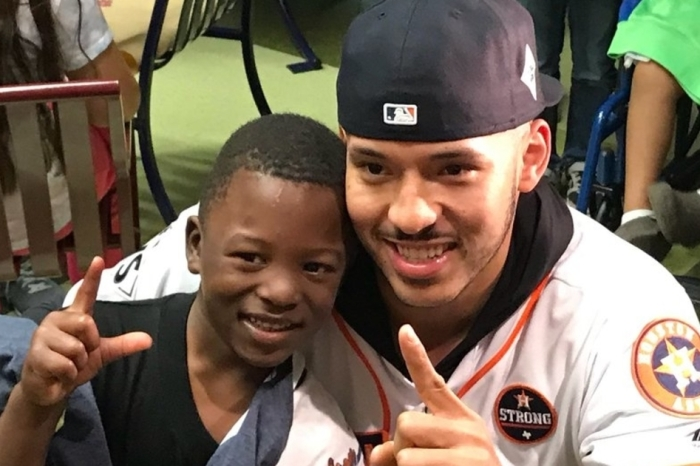 Astros shortstop Carlos Correa gives his tiniest fanbase a big reason to smile