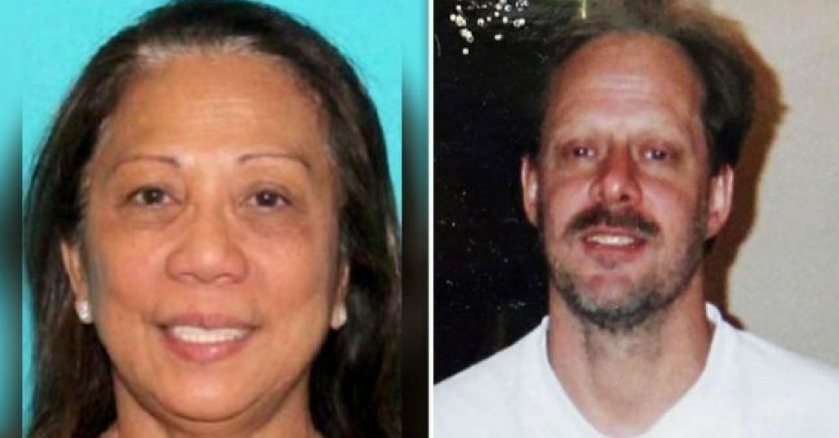 The Las Vegas shooter's girlfriend may know a lot more than she's letting on, sheriff says