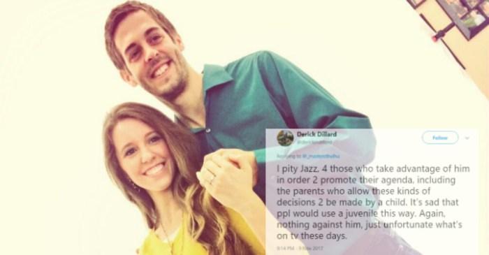 TLC network has shown Jill Duggar's husband the door for good — over tweets