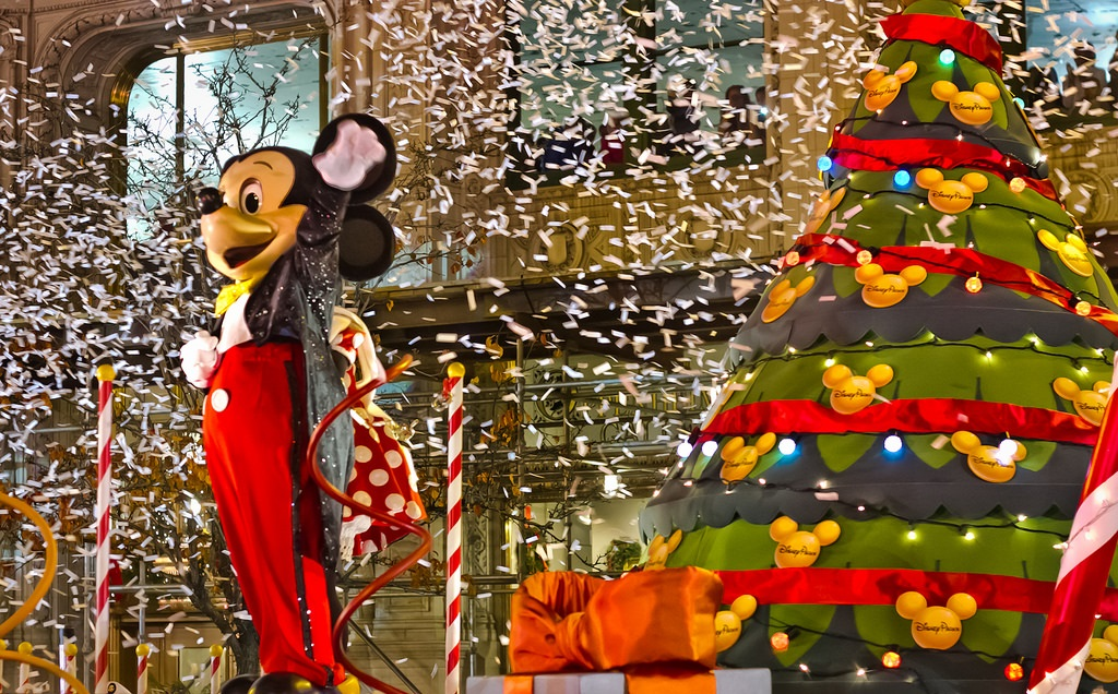 Disney helped Magnificent Mile Festival kick off the holiday season