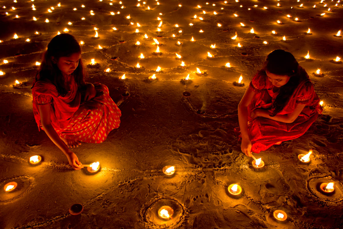 The Diwali Festival in Dallas beamed extra bright this year, especially for Houstonians